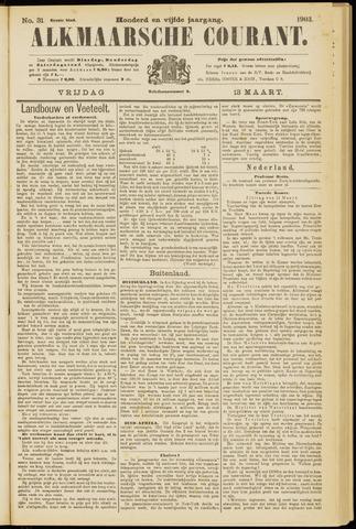 Alkmaarsche Courant 1903-03-13