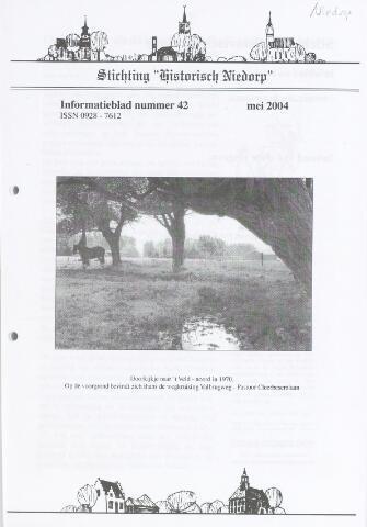 Informatieblad stichting Historisch Niedorp 2004-05-01
