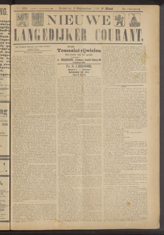 Nieuwe Langedijker Courant 1922-09-02