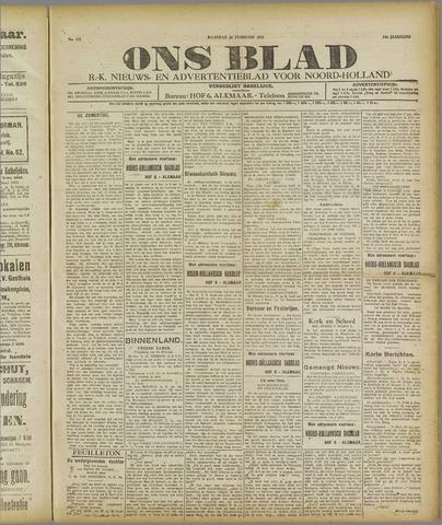 Ons Blad : katholiek nieuwsblad voor N-H 1921-02-28