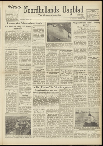 Nieuw Noordhollandsch Dagblad : voor Alkmaar en omgeving 1948-01-16