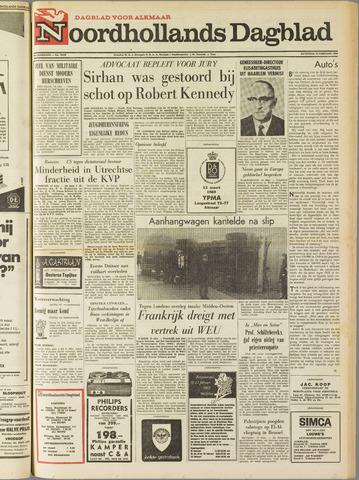 Noordhollands Dagblad : dagblad voor Alkmaar en omgeving 1969-02-15