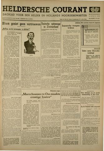 Heldersche Courant 1938-04-06