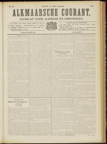 Alkmaarsche Courant 1909-03-11