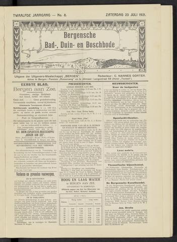 Bergensche bad-, duin- en boschbode 1921-07-23
