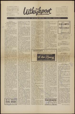 Uitkijkpost : nieuwsblad voor Heiloo e.o. 1958-10-17