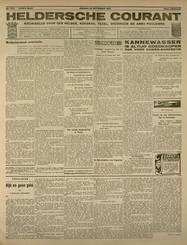 Heldersche Courant 1932-09-20