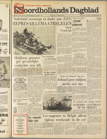 Noordhollands Dagblad : dagblad voor Alkmaar en omgeving 1963-02-14