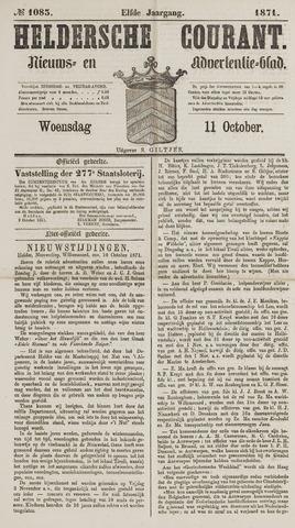 Heldersche Courant 1871-10-11
