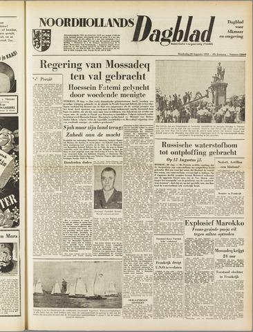 Noordhollands Dagblad : dagblad voor Alkmaar en omgeving 1953-08-20