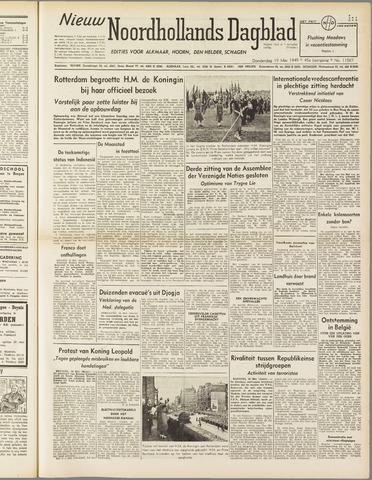 Nieuw Noordhollandsch Dagblad : voor Alkmaar en omgeving 1949-05-19
