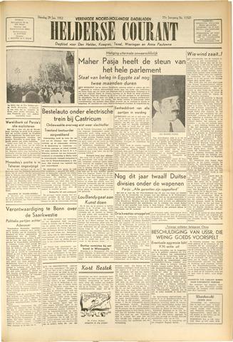 Heldersche Courant 1952-01-29