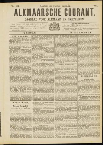 Alkmaarsche Courant 1905-08-18