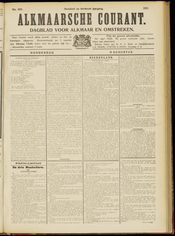 Alkmaarsche Courant 1911-08-31