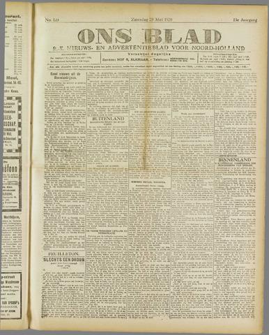 Ons Blad : katholiek nieuwsblad voor N-H 1920-05-29