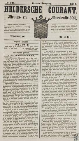 Heldersche Courant 1867-05-22