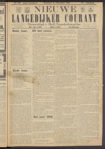 Nieuwe Langedijker Courant 1928-12-31
