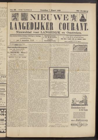 Nieuwe Langedijker Courant 1925-03-07