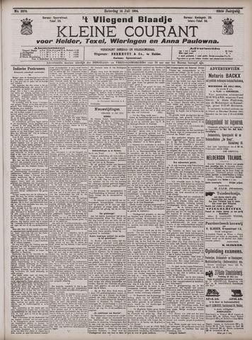 Vliegend blaadje : nieuws- en advertentiebode voor Den Helder 1904-07-16