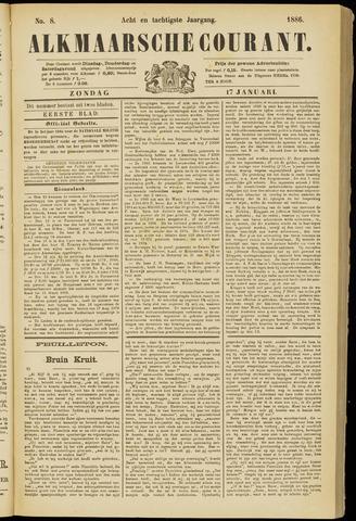 Alkmaarsche Courant 1886-01-17