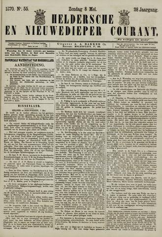 Heldersche en Nieuwedieper Courant 1870-05-08