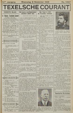 Texelsche Courant 1938-11-09
