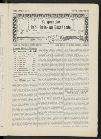 Bergensche bad-, duin- en boschbode 1912-08-09