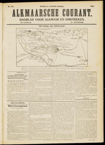 Alkmaarsche Courant 1912-10-28