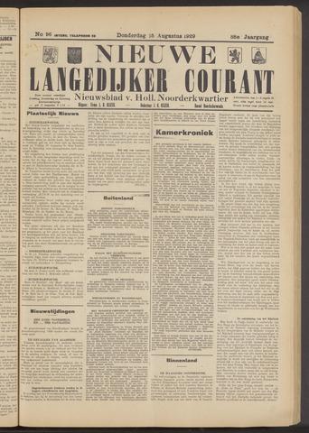 Nieuwe Langedijker Courant 1929-08-15