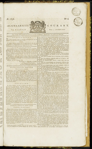Alkmaarsche Courant 1838-02-05