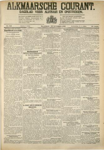 Alkmaarsche Courant 1930-10-20