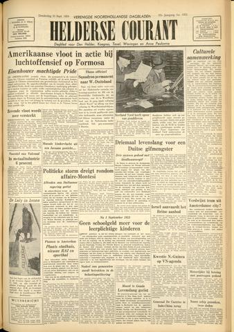 Heldersche Courant 1954-09-23