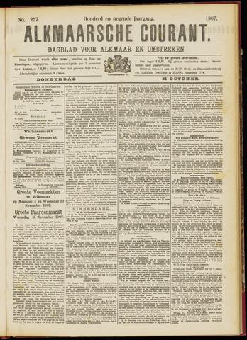 Alkmaarsche Courant 1907-10-31
