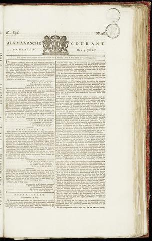 Alkmaarsche Courant 1832-07-09