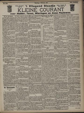 Vliegend blaadje : nieuws- en advertentiebode voor Den Helder 1907-02-02