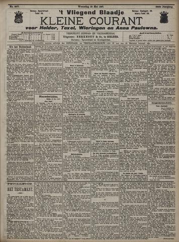 Vliegend blaadje : nieuws- en advertentiebode voor Den Helder 1907-05-29