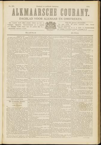 Alkmaarsche Courant 1914-07-13