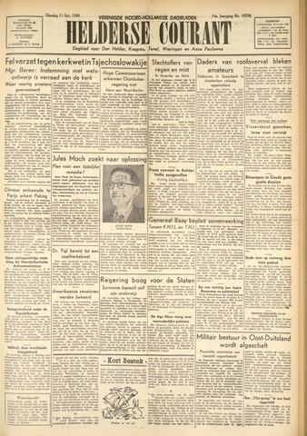 Heldersche Courant 1949-10-11