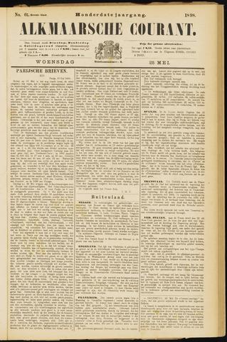 Alkmaarsche Courant 1898-05-25