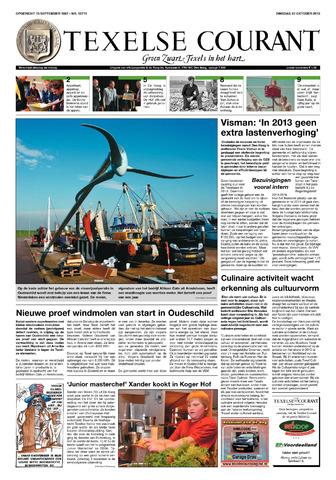 Texelsche Courant 2012-10-23