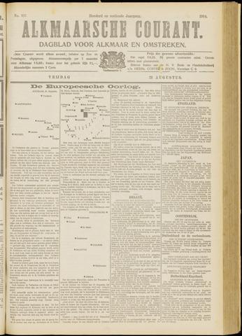 Alkmaarsche Courant 1914-08-21