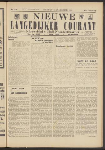 Nieuwe Langedijker Courant 1932-11-08