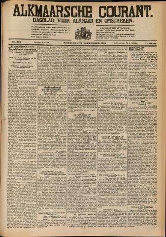 Alkmaarsche Courant 1930-09-24