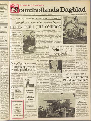 Noordhollands Dagblad : dagblad voor Alkmaar en omgeving 1964-05-27