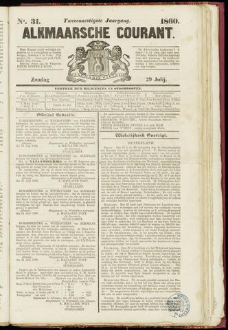Alkmaarsche Courant 1860-07-29