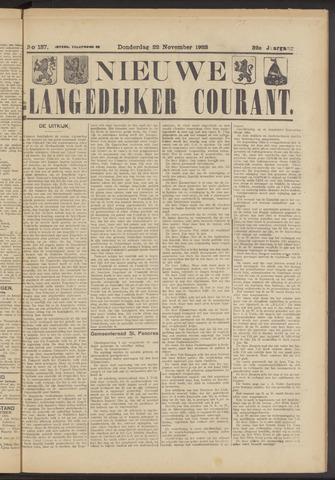 Nieuwe Langedijker Courant 1923-11-22