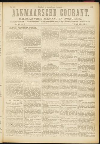Alkmaarsche Courant 1917-08-06