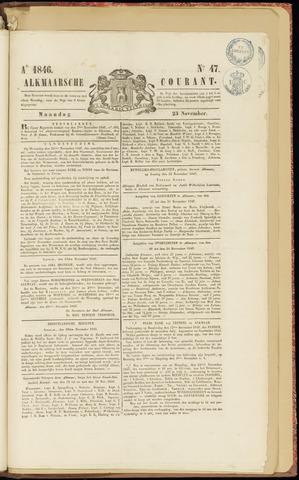 Alkmaarsche Courant 1846-11-23