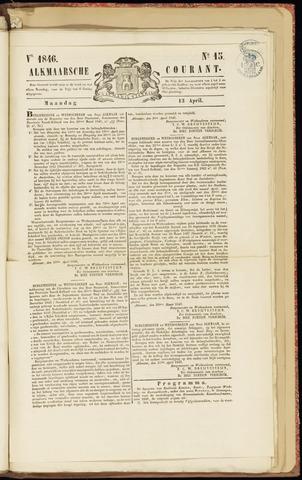 Alkmaarsche Courant 1846-04-13
