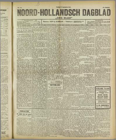 Ons Blad : katholiek nieuwsblad voor N-H 1922-09-22
